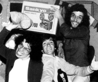 Nelson Nadotti, Carlos Gerbase e Hélio Alvarez - Teatro de Arena- exibição de Meu Primo